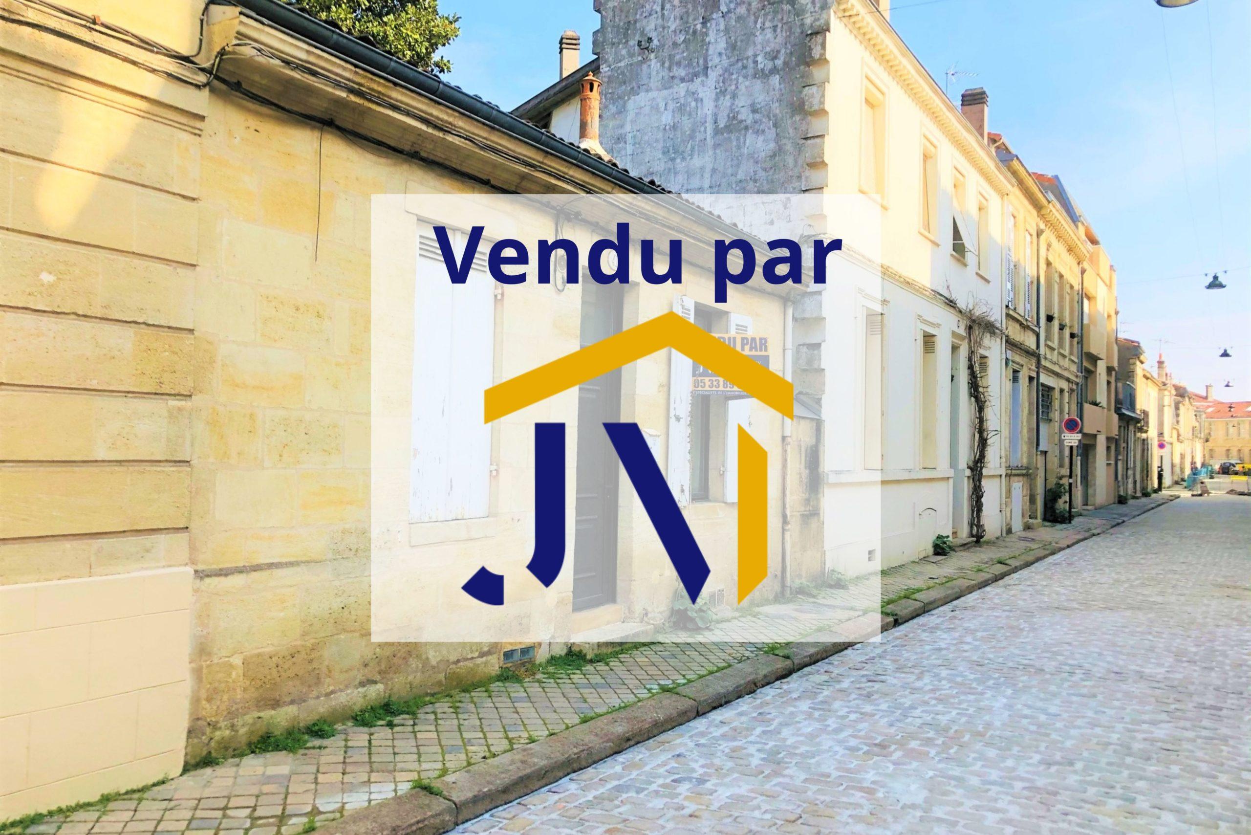 Maison Bordeaux quartier Jardin Public