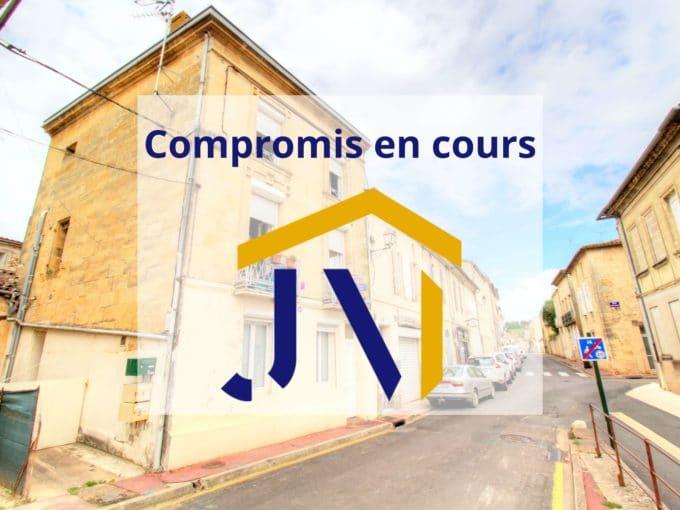 IMMOBILIER IMMEUBLE INVESTISSEMENT LOCATIF CASTILLON LA BATAILLE GIRONDE PIERRE